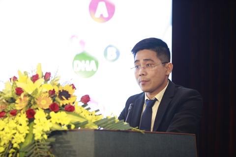 Ông Nguyễn Đức Công, Phó Tổng Giám đốc Công ty KLF phát biểu tại buổi lễ