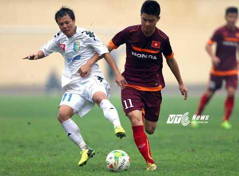 Duy Mạnh không được triệu tập lên tuyển Việt Nam (Ảnh: Q.M)