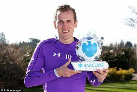 Harry Kane vừa được bầu là cầu thủ xuất sắc nhất tháng 3