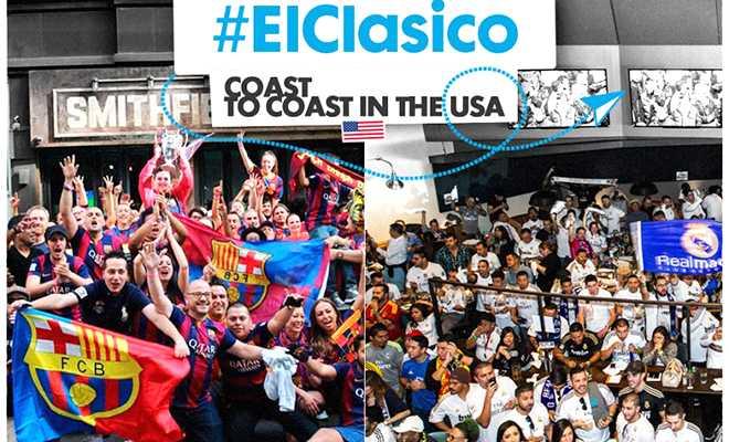 Xem El Clasico trên kênh nào?