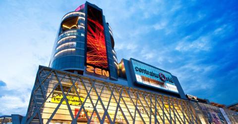 CentralWorld được biết đến như biểu tượng của tập đoàn Central Group (Thái Lan)