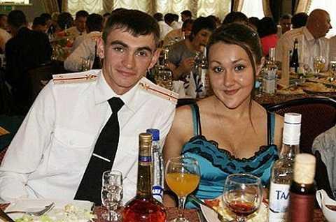 Alexander Prokhorenko và vợ