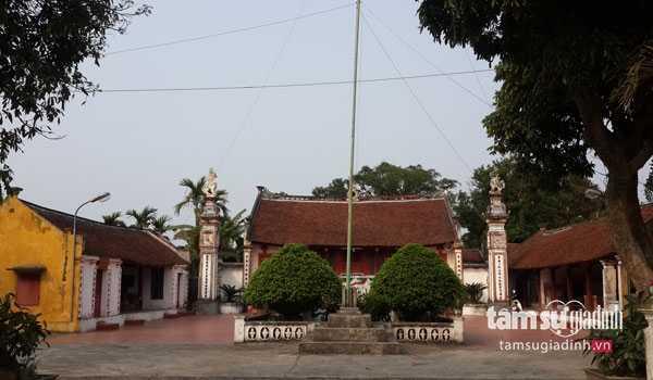 Ngôi đền Mẫu Ninh Cường