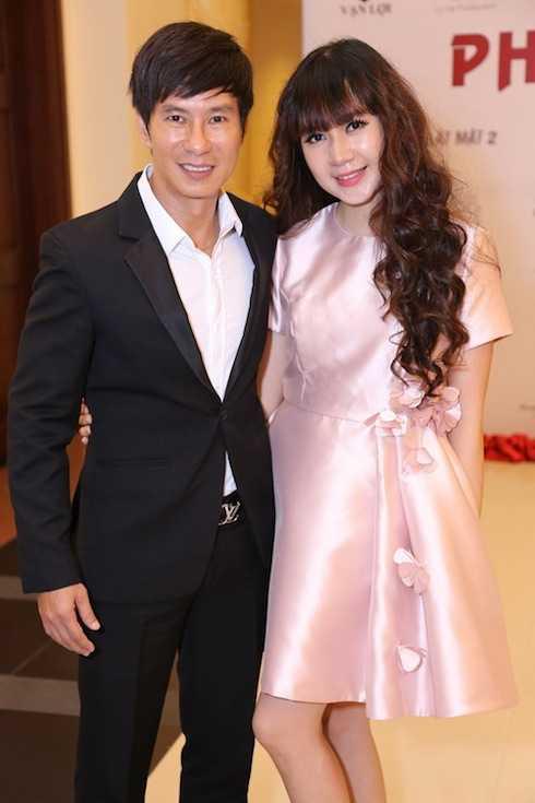 Hai vợ chồng Lý Hải - Minh Hà.