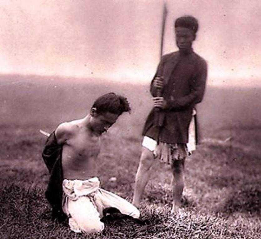 Một đao phủ thời Nguyễn (nguồn: Internet).