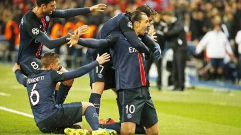 PSG đang mơ 1 suất dự bán kết Champions League lần đầu tiên