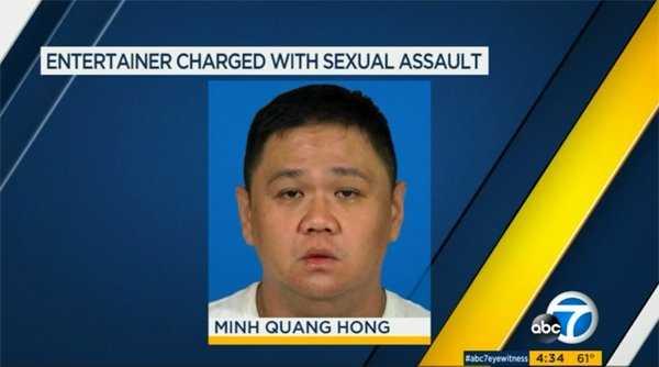 Hình ảnh Minh Béo xuất hiện trong bản tin của đài truyền hình Mỹ ABC7.