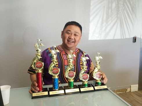 Minh Béo từng có được nhiều giải thưởng lớn nhỏ.