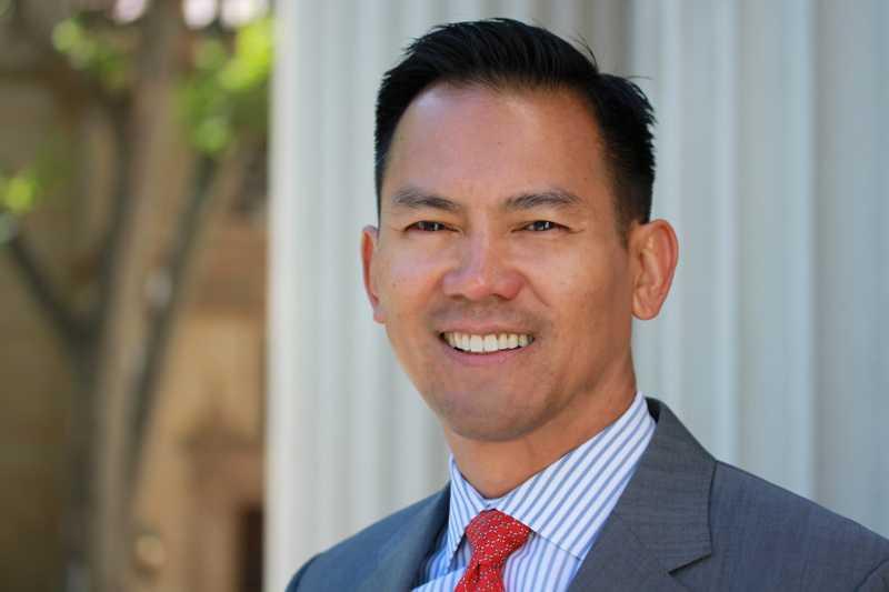 Luật sư Mỹ gốc Việt Thành D. Ngô. Ảnh NVCC