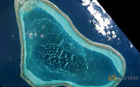 Bãi cạn Scarborough từng nằm dưới quyền kiểm soát của Philippines, sau đó vào năm 2012 Trung Quốc hoàn toàn kiểm soát bãi này