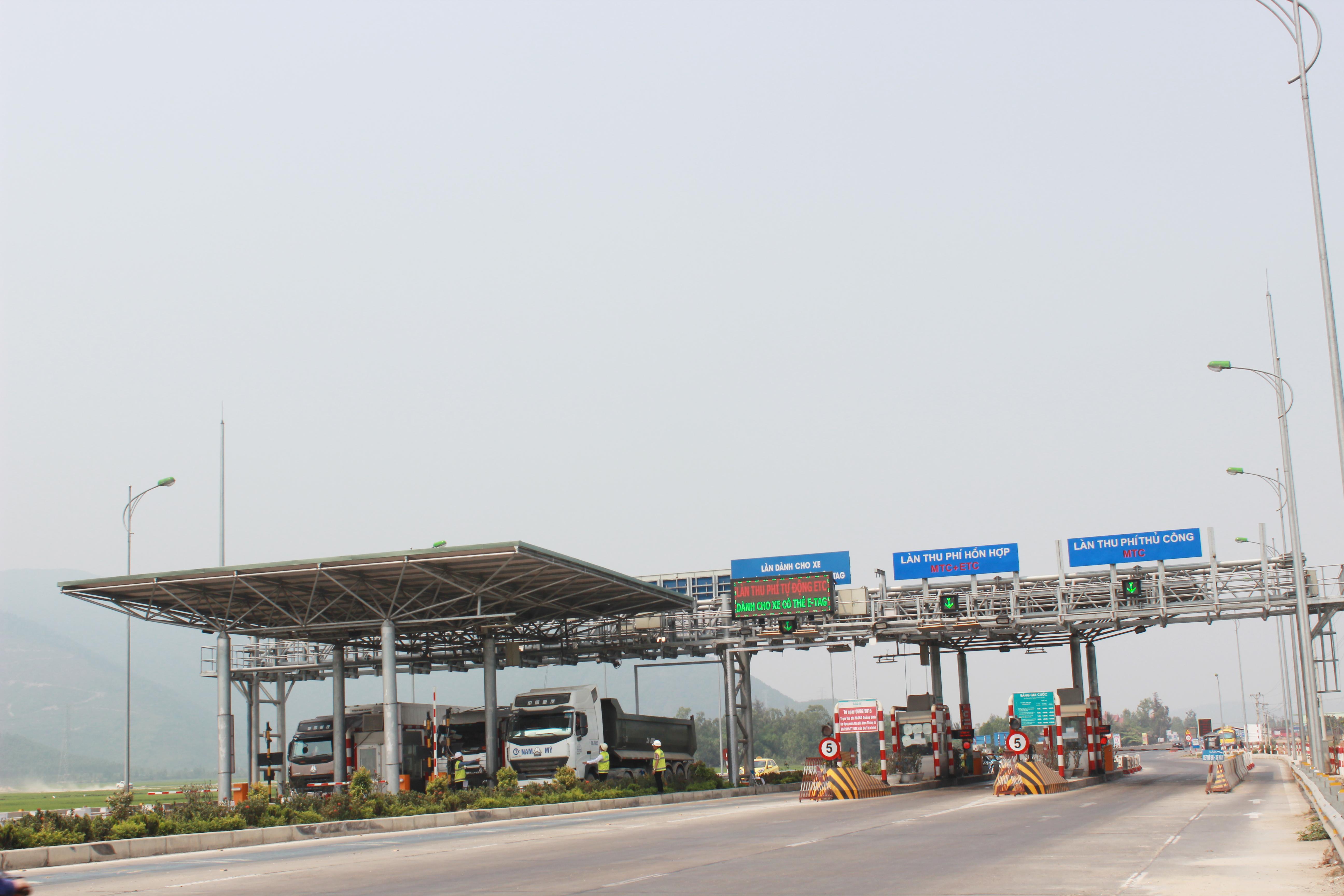 Trạm thu phí BOT tại QL 1A, Km 604+700 do Công ty Cổ phần TASCO khai thác