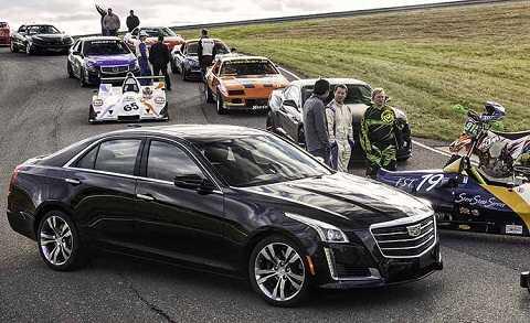 Điểm hấp dẫn nhất trên CTS 2015 chính là mặt trước cải tiến với nét nổi bật là lưới tản nhiệt cửa dạng cửa chớp từng thấy trên các sản phẩm Cadillac gần đây như