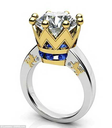 Cận cảnh chiếc nhẫn đặc biệt trị giá 225.000 Bảng Anh
