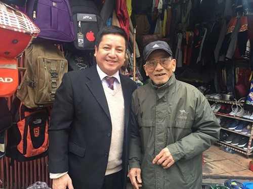 Nghệ sĩChí Trung và Trần Hạnh.