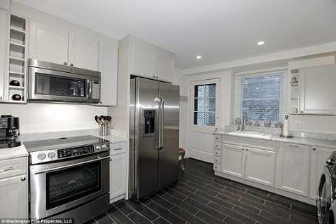 Phòng bếp của ngôi nhà