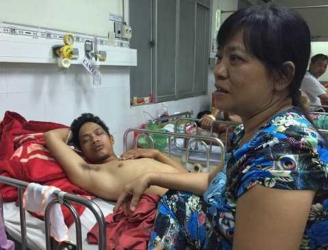 Anh Phong đã xuất viện sau 5 ngày điều trị tại BV Nhân dân 115