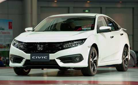 Honda Civic tại Bangkok Motor Show 2016.