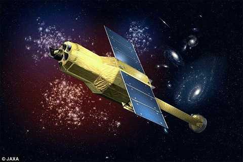 Vệ tinh Hitomi trong không gian bị vỡ thành nhiều mảnh