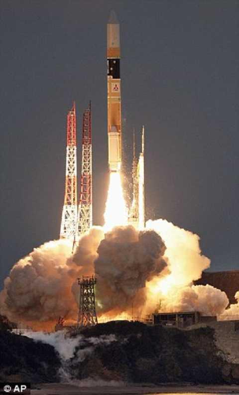 Vệ tinh Hitomi phóng vào không gian