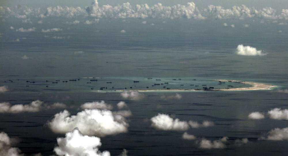 Bãi cạn bị Trung Quốc chiếm đóng, cải tạo trái phép ở Biển Đông