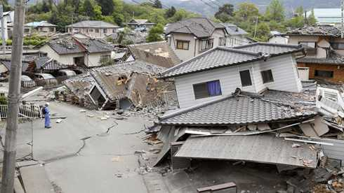 Động đất ở Nhật Bản - Ảnh minh họa
