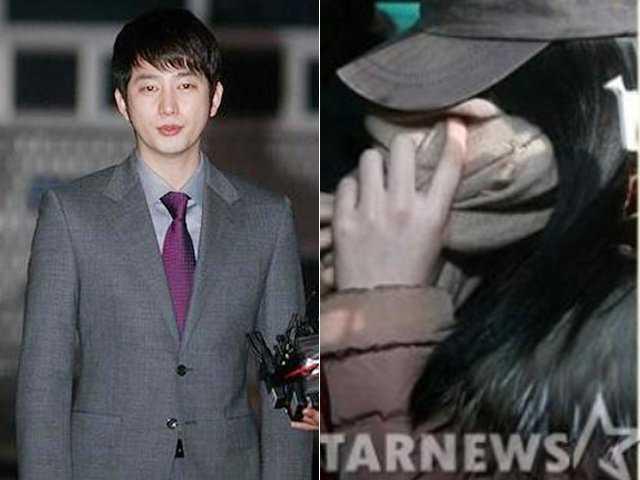 Park Shi Hoo và cô gái cáo buộc anh tội cưỡng dâm
