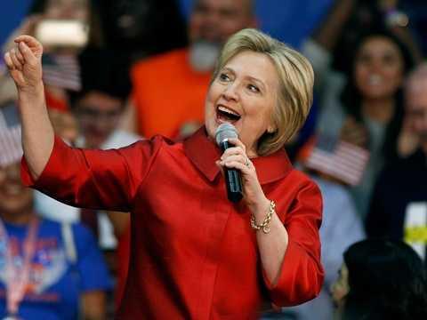 Hilary Clinton - quản lý công viên. Trong cuốn tự truyện