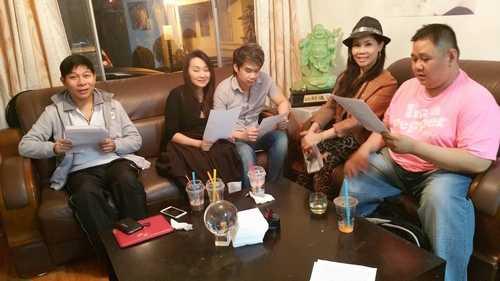 Những hình ảnh về hoạt động nghệ thuật của Minh Béo tại quận Cam trước khi bị bắt vào ngày 24.3 vì các tội danh tình dục vừa được hé lộ.