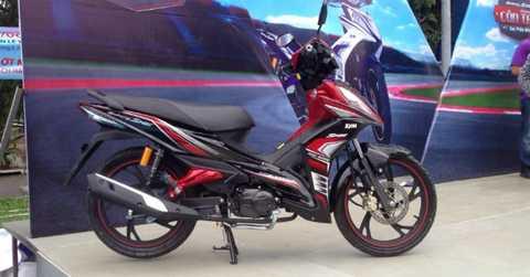 SYM Galaxy laf 1 trong những mẫu xe máy giá rẻ tại thị trường Việt Nam.