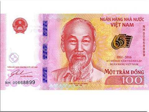 Tờ tiền lưu niệm mệnh giá 100 đồng sắp được Ngân hàng Nhà nước in và phát hành