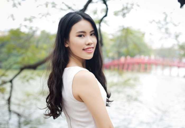 Cô bạn tài năng Khuất Minh Thu Giang.
