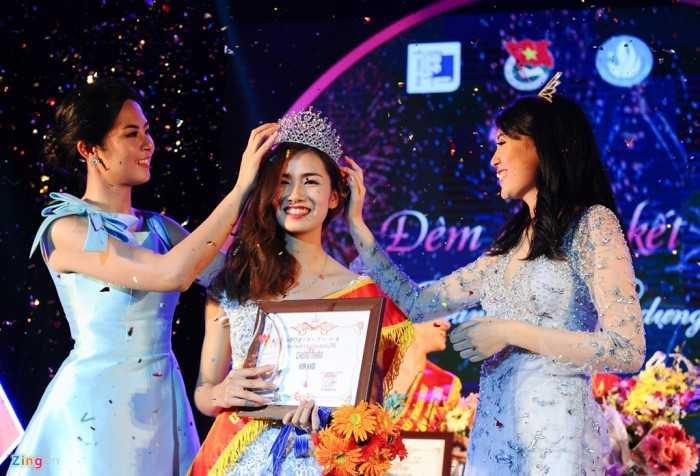 Câu trả lời tuy chưa phải hay nhất nhưng với phong độ ổn định suốt thời   gian 2 tháng của cuộc thi, Nguyễn Thị Việt Trinh đã giành ngôi vị Hoa   khôi Đại học Xây dựng.