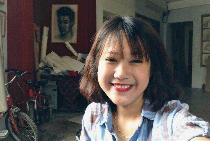 Cô bạn này dự định sẽ đi du học tại Singapore.