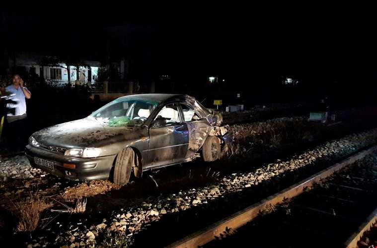 Hiện trường vụ tai nạn - Ảnh: Pháp luật TP.HCM