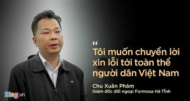 Ông Chu Xuân Phàm.