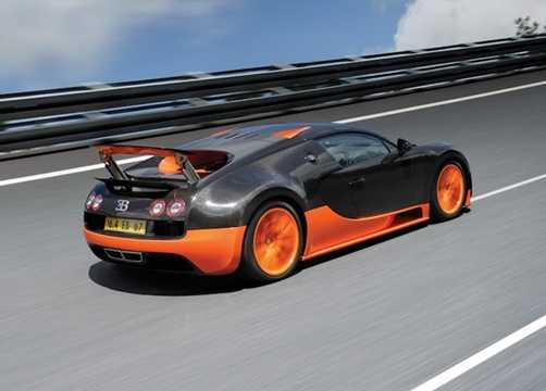 Ngoài Bugatti Veyron, hàng loạt các siêu xe