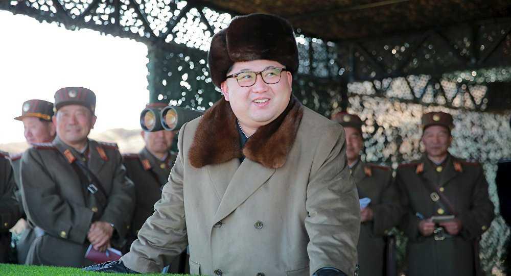 Lãnh đạo Triều Tiên Kim Jong-un thị sát quân đội