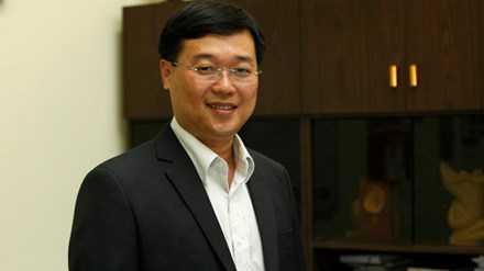 Anh Lê Quốc Phong, Ủy viên dự khuyết BCH T.Ư Đảng, Bí thư T.Ư Đoàn, Chủ tịch Hội SVVN Việt Nam.