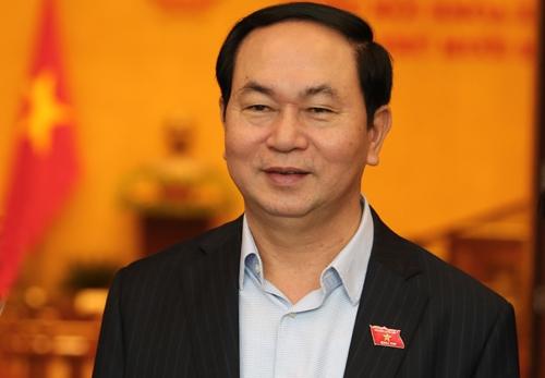 Đại tướng Trần Đại Quang (Ảnh: Ngọc Thành)
