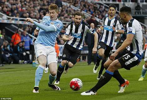 Man City gặp khó trước hàng phòng ngự của Newcastle