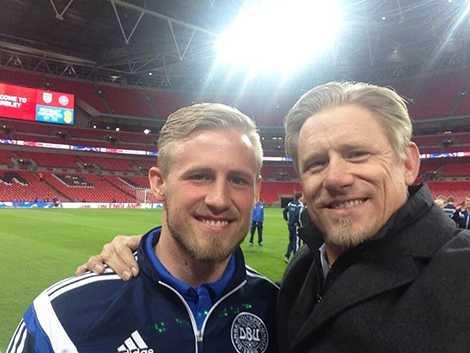 Kasper và cha, Peter Schmeichel
