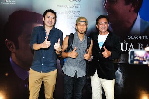 Phạm Anh Khoa và ê-kip làm phim.