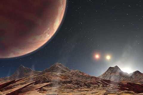 Hành tinh gồm 3 ngôi sao