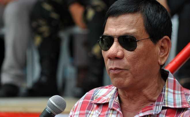 Tổng thống mới đắc cử của Philippines Rodrigo Duterte