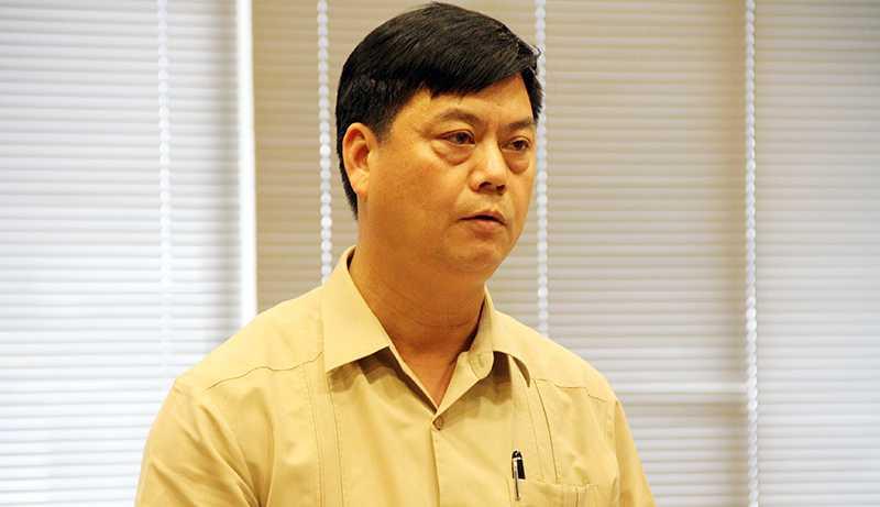 Ông Phạm Văn Đức, Phó Chủ tịch Viện Hàn lâm KHXH Việt Nam  (Ảnh: Phạm Thịnh)