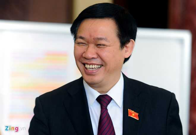 Phó Thủ tướng Vương Đình Huệ. Ảnh: Hoàng Hà.