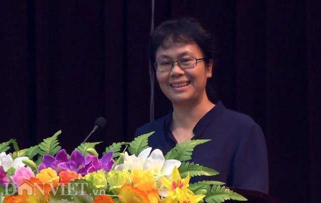 Bà Nguyễn Vân Chi hiện là Vụ trưởng Vụ chính sách thuế, Tổng cục Thuế, Bộ Tài Chính. Bà Chi cũng là phu nhân Phó Thủ tướng Vương Đình Huệ.