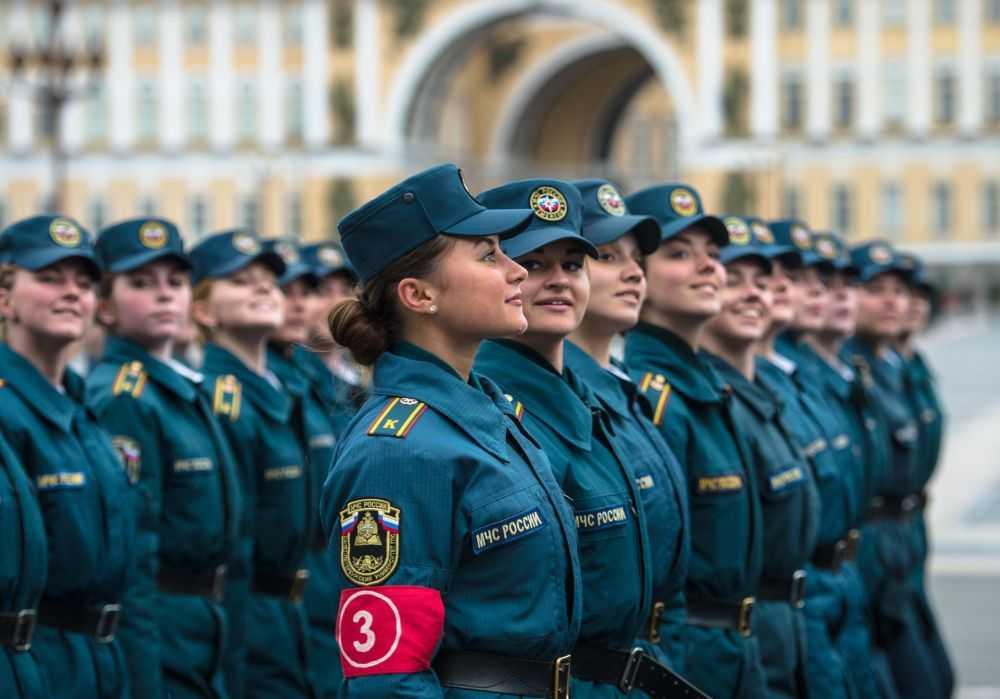 Nữ quân nhân lần đầu tham gia lễ duyệt binh