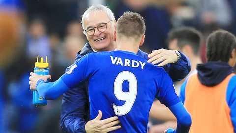 Vardy bước lên đẳng cấp mới dưới thời Ranieri