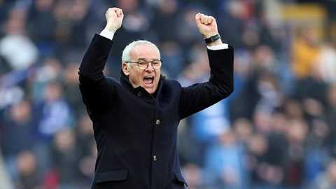 Ranieri chưa bao giờ đến gần chức vô địch hơn thế